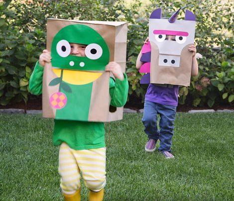 disfraces caseros reciclados para halloween 2013