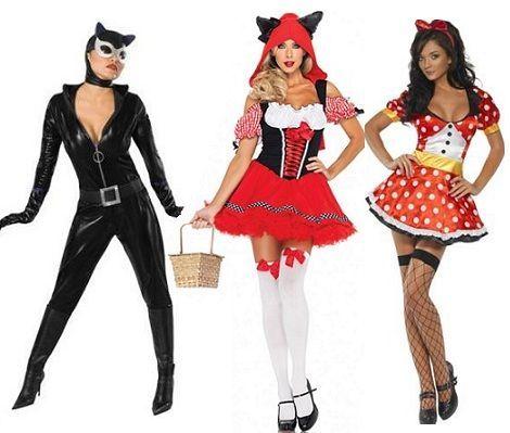 disfraces sexys para carnaval