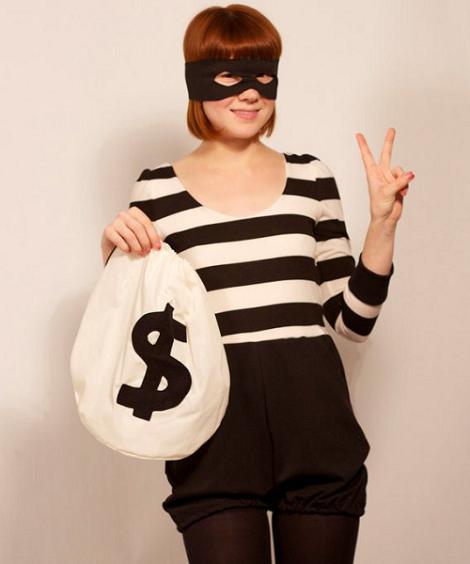 Disfraz de ladrona