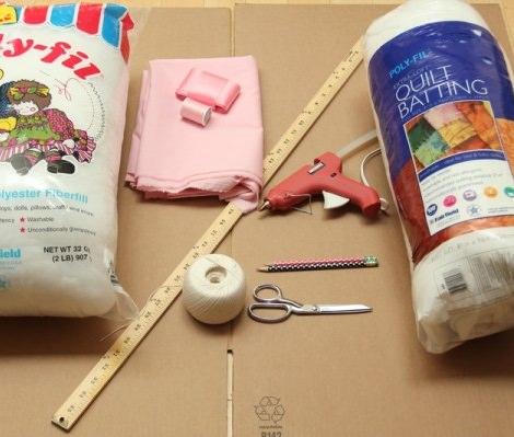 Materiales Disfraz de macaron para niña casero