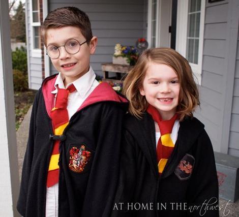 Disfraces de harry Potter