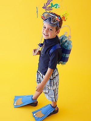 disfraces de ultima hora para niños