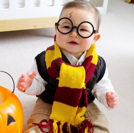 Disfraz de harry Potter bebé