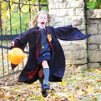 Disfraz de harry Potter niña
