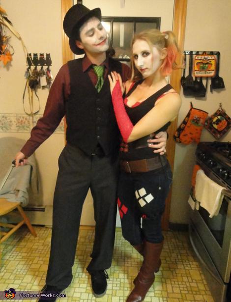 Disfraces de Joker y Harley