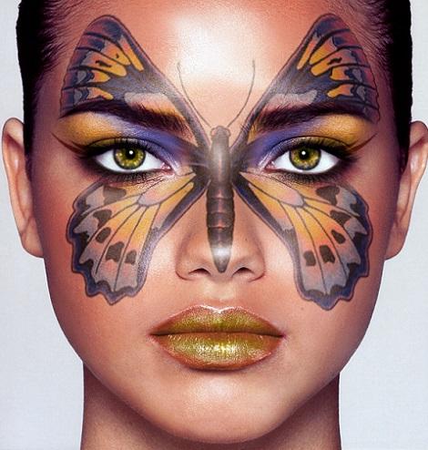 ideas para un maquillaje de carnaval original