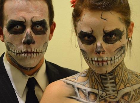 maquillaje calaveras carnaval