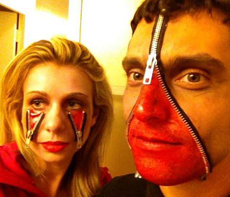 maquillaje zombie carnaval