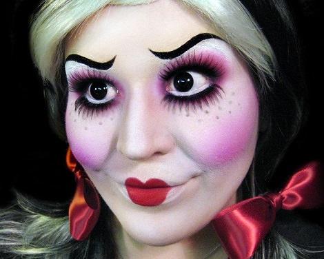 fotos de maquillaje fantasía carnaval