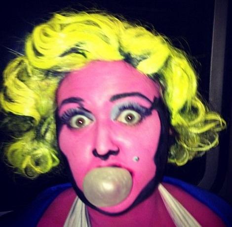 maquillaje marilyn monroe andy warhol