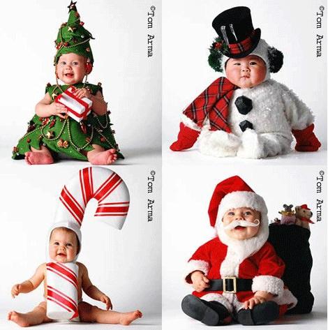 Disfraces de Navidad para bebé de Tom Arma