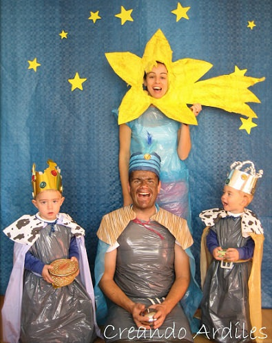 Cómo hacer un disfraz casero de los Reyes Magos facil y barato