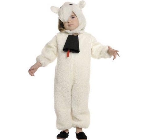 Disfraces baratos para niños Navidad 2013 oveja